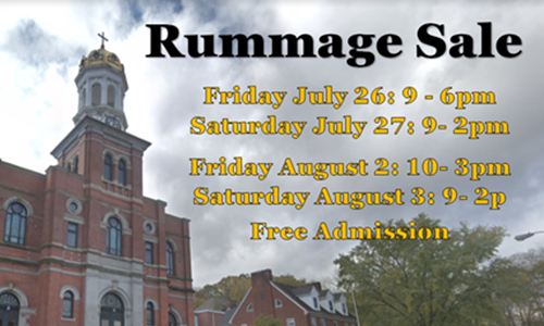 Baltic Church & School Hold 33rd  Annual Rummage Sale
