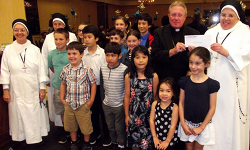 Catholic Foundation gives more than $300,000 to Diocese schools, programs at awards event