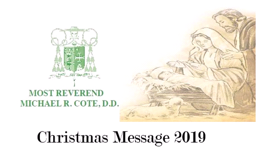 Bishop Cote's Christmas Message for 2019
