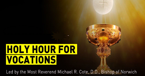 Monthly Holy Hour for Vocations