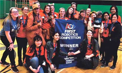 Mercy's Robotic Team Wins Another FIRST Robotics Championship