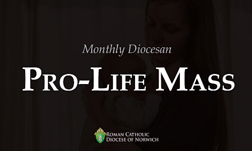 Monthly Diocesan Pro-Life Mass - Saturday, September 7 at 8:30am