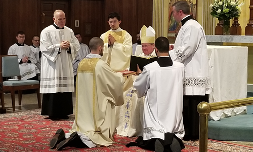 Mass of Ordination to the Diaconate of Reverend Mr. Michael Bovino