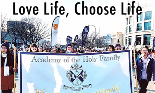 March For Life -- Unique from Day One