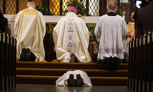 Ordination to the Transitional Diaconate - Thursday, May 23 at 7:00p