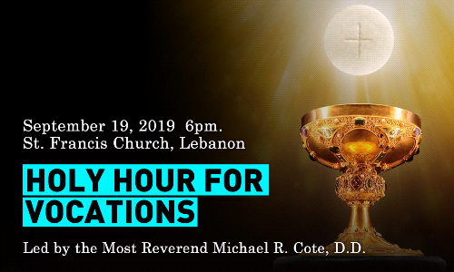 Monthly Hour Hour for Vocations